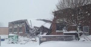 Property damage snowstorm